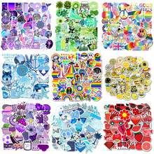 50Pcs/pack Cartoon Simple VSCO Girls Kawaii Sticker For Luggage Laptop Motorcycle Refrigerator Toys Pegatinas Decals Stickers F5