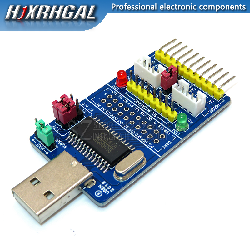 FT311D Development Board Convert Plate USB to I2C,SPI,UART,GPIO,PWM for Android