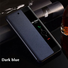 Luxury Smart Protect Cases For Huawei Mate 20 Pro 10 Auto Sleep Wake Up Flip Cover P20 Lite P10