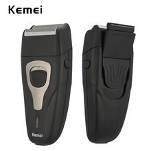 100-240V kemei 3D electric shaver rechargeable floating beard men razor face care shaving machine hair trimmer