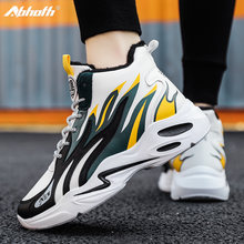 Кроссовки abhoth мужские на платформе Повседневная Теплая обувь
