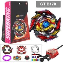 Sparking Launcher Gyroscope-Toys Beyblades Burst Fusion-Gt Metal Children Handlebar