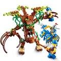 Конструктор «Война славы», замок рыцарей, война древнего дерева, монстр, развивающие блоки, игрушка для друзей, подарок для мальчика