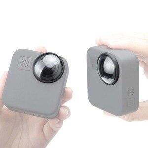 Image 5 - غطاء عدسة واقية لـ GoPro Max HD ، زجاج مقوى ، ملحقات كاميرا الحركة