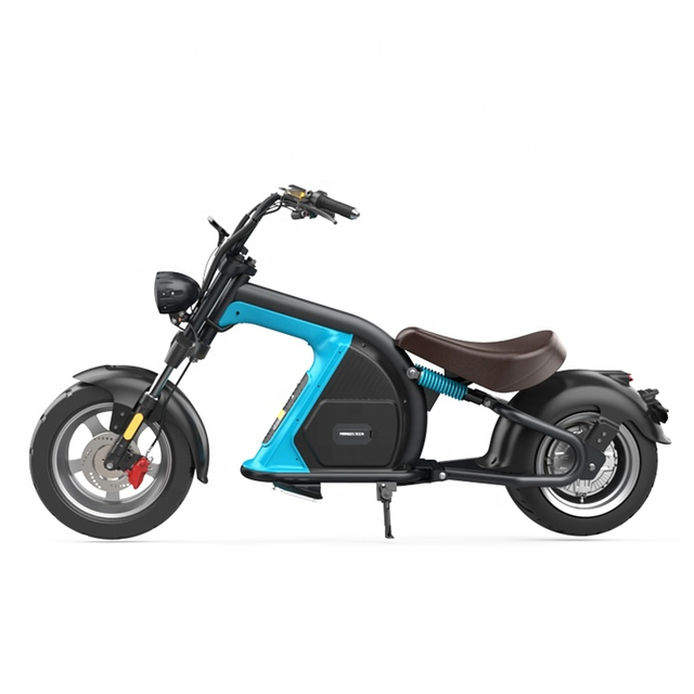 European Warehouse New Model Electric scooter 2000W fat Wheel Citycoco M8 Adult Motorcycle Chopper 4