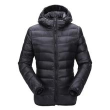 Женская куртка Zogaa, осенне зимняя куртка, Ультралегкая пуховая куртка, Женская ветрозащитная теплая одежда, упакованный пуховик, женские парки