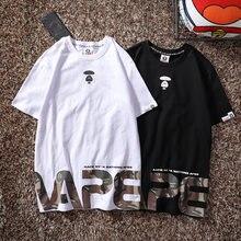 Футболка камуфляжная в японском стиле Харадзюку для мужчин и