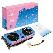 Yeston Radeon RX580 2048 SP-8G GDDR5 NETTE PET PCI Express X16 3,0 Video Gaming Grafikkarte Externe grafikkarte für Desktop