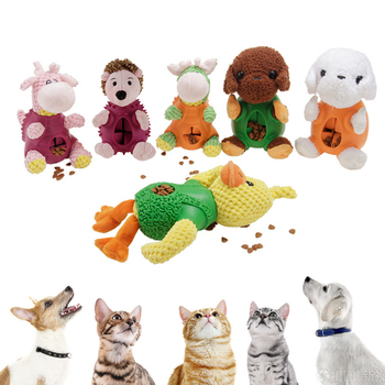 Doy Toy Pet Dog Toy Plush Vocal Toy Bite-resistant Molar Toy Cat Mint Plush Toy Star Vocal Toy One image