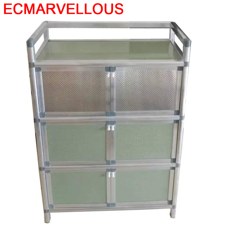 Mobiliario Capbords Sidebord End Aluminum Alloy Side Tables Mueble Cocina Meuble Buffet Cupboard Kitchen Furniture Sideboard