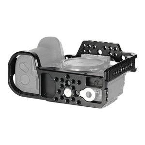 Image 5 - SmallRig caméra Cage pour Panasonic Lumix DC S1 /S1R Cage avec chaussure froide et lotan Rail pour S1/S1R tournage vidéo Cage  2345