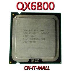 Процессор Intel Core QX6800 2,93G 8M 4-ядерный процессор с 4 резьбой LGA775