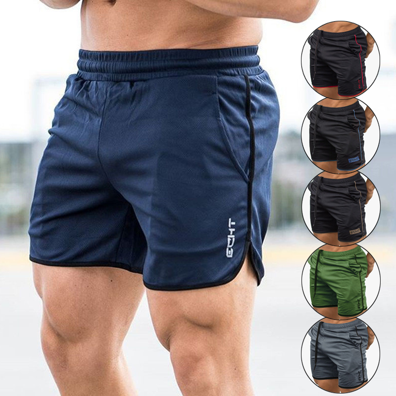 Men/'s GYM Shorts SportTraining  Running Workout Jogging Pants Trousers Casual
