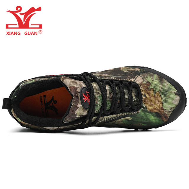 XIANG GUAN zapatos de senderismo bi nicos para hombre y mujer botas t cticas de camuflaje