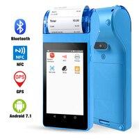 POS PDA with Thermal Receipt Printer 58mm POS Terminal Bluetooth Wifi 3G Wireless Mobile Receipt Printing Handheld PDA GZPDA07