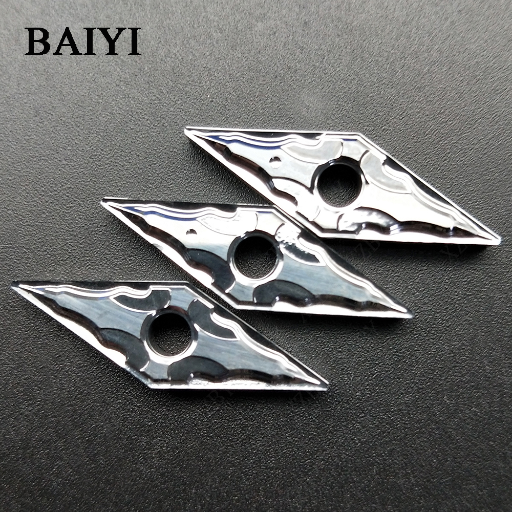 10pcs VNMG160404-HA H01 VNMG160408-HA H01 Aluminum Turning Inserts VNMG 160404 VNMG 160408 Carbide Round Blade Cnc Lathe Cutter