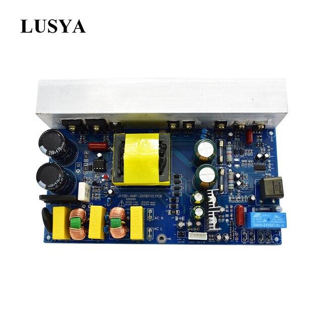 Lusya 1000ワット電源オーディオアンプボードクラスdモノラルチャンネルデジタルサウンドアンプスイッチ電源AC220/110v T1162