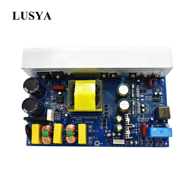 Lusya 1000W puissance Audio amplificateur carte classe D Mono canal numérique amplificateur de son avec interrupteur alimentation AC220/110V T1162
