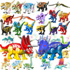 Disney Jurassic World Building Blocks Dinosaur Triceratops Bricks Animals Educational Toys For Children For Boys Christmas Gifts