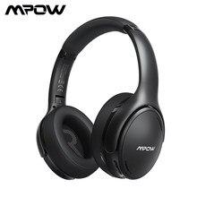 Mpow H19 Ipo Draadloze Hoofdtelefoon Anc Ruisonderdrukkende Hoofdtelefoon Hifi Stereo Bluetooth 5.0 Headset Met 30H Speeltijd Voor Iphone 11