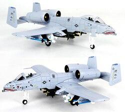 JASON TUTU самолет модель 1/100 масштаб Fairchild Республика A-10 Thunderbolt самолет сплав модель литье под давлением 1:100 металлических самолетов