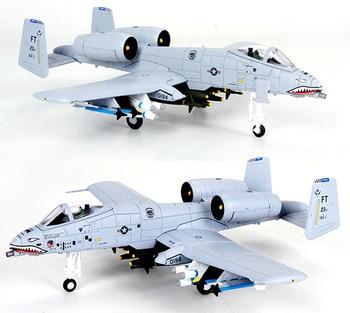 JASON TUTU Aircraft Plane model 1/100 Scale Fairchild Republic A-10 Thunderbolt  airplane Alloy model diecast 1:100 metal Planes