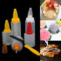 16pcs/set Fondant Squeeze Bottle Cookie Kitchen Durable Desserts Cake Decorating Tool Home Pastry DIY Nozzles Spatula