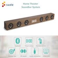 Original Bluetooth TV Sound Bar Wireless Speaker Soundbar Support Optical SPDIF HDMI AUX in for Home Theatre