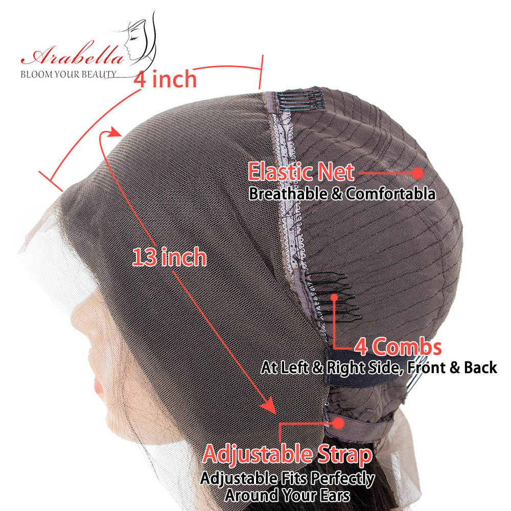 Lace Front  Wigs With Baby Hair  Arabella Hair Straight  Hair 180% Density PrePlucked 13*4 Lace Front Wig 6