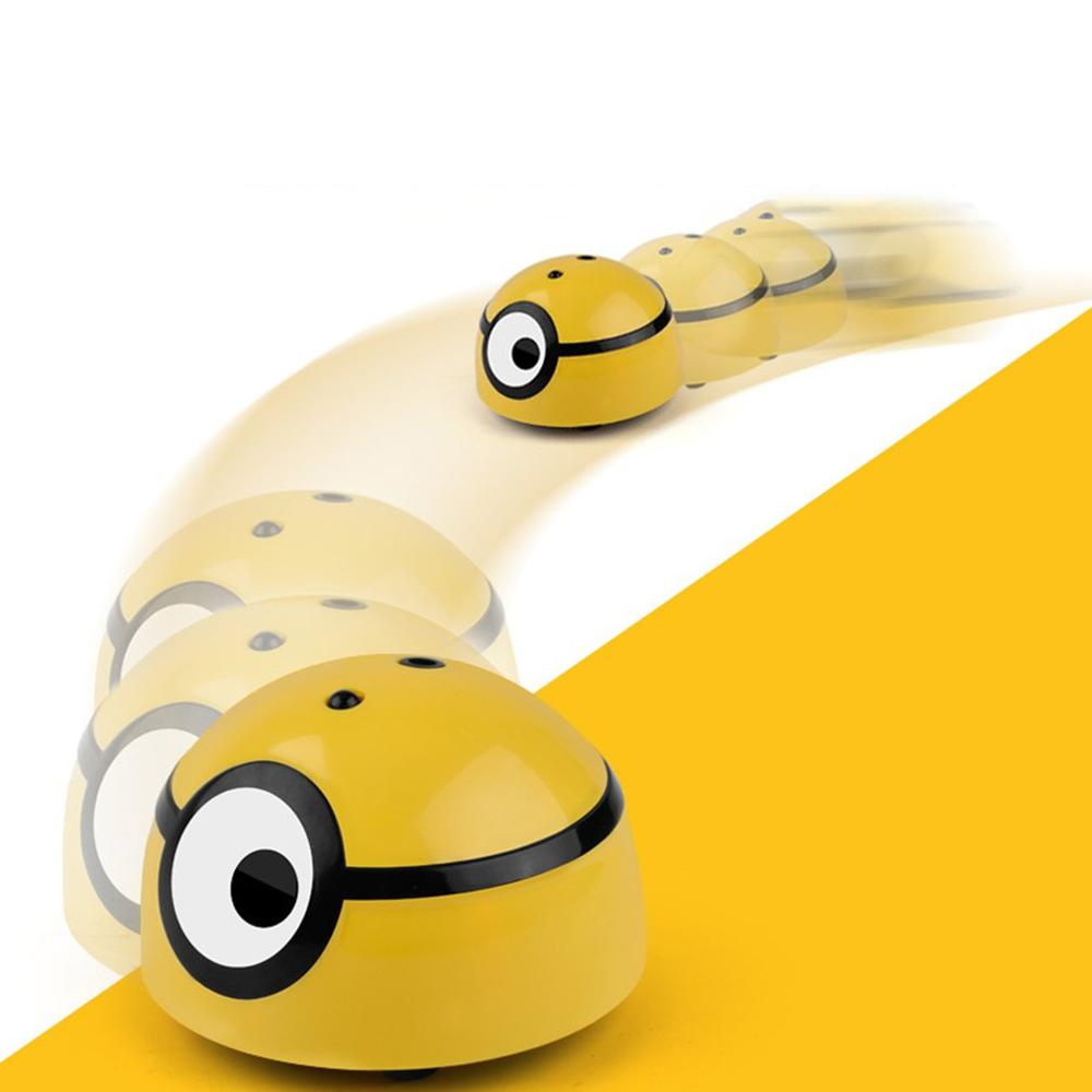 Pet Automatic Walking Interactive Toy Infrared Sensor Pet Supplies Cat Scratching Runaway Minion Ball Intelligent Escaping Toy