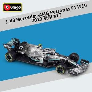 Image 5 - Bburago 1:43 スケール F1 redbull インフィニティレース RB9 RB14 W07 SF16H SF71H ダイキャストメタルモデルカーのためのコレクション友人ギフト