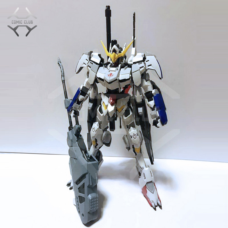 COMIC CLUB Instock MJH Mojianghun Hirm Style Version Gundam Barbatos 4th/6th Form MG 1/100 Action Assembly Figure Robot Toy