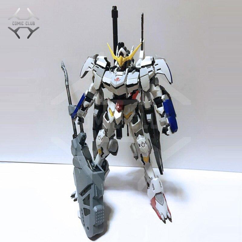 COMIC CLUB Instock MJH Mojianghun Hirm Style Version Gundam Barbatos 4th/6th Form MG 1/100 Action Assembly Figure Robot Toy