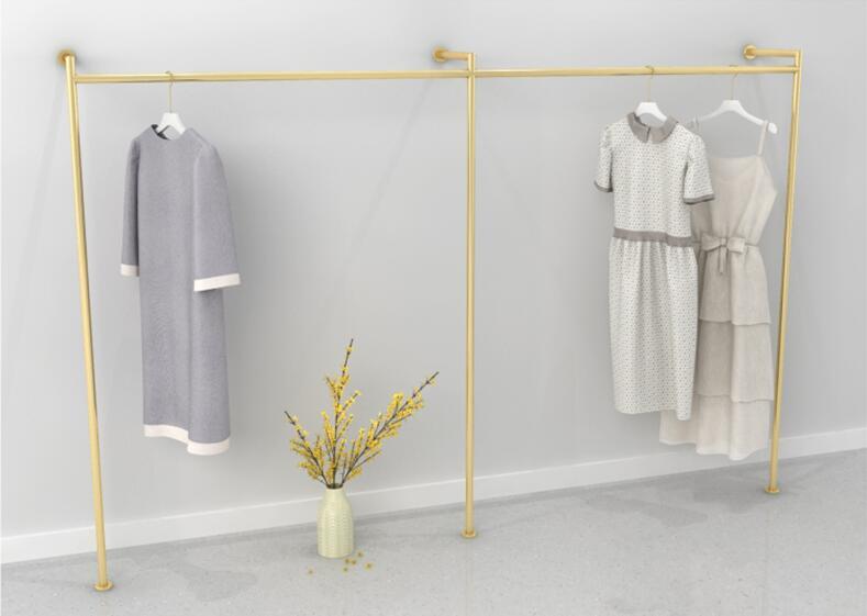 Tieyi vestuário rack de exibição prateleira tipo