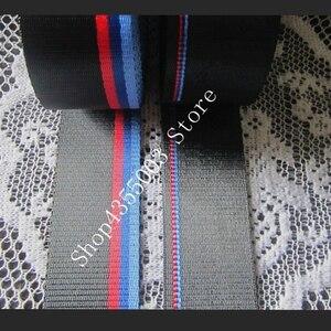 Image 5 - רכב מושב חגורת M סגנון רצועת מירוץ לרתום סרט אוטומטי בטיחות חגורה כחול אדום סיטונאי DropShipping עבור BMW e46 e90 e39