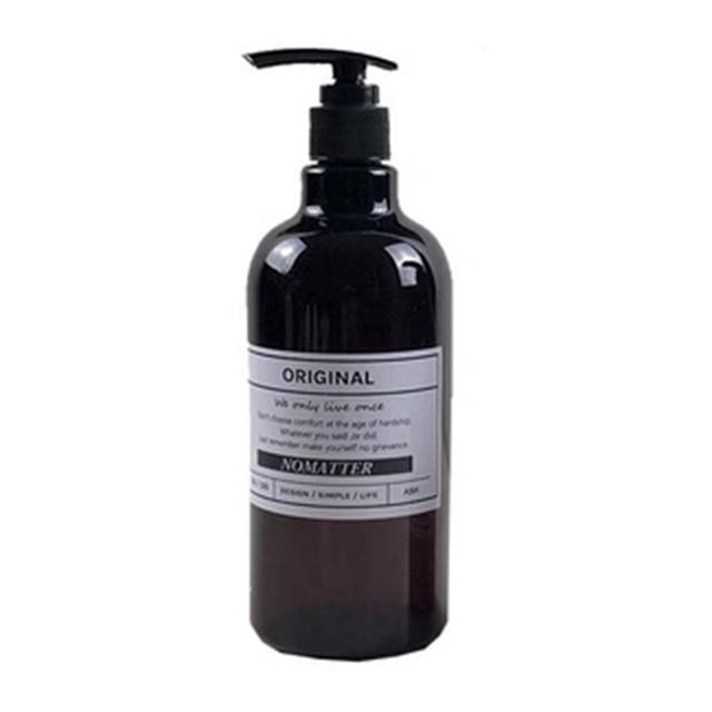 250/500ml Bath Refillable Bottle Hand Sanitizer Bottle Press-type Shampoo Bottle Portable Shower Gel Organize Container 3