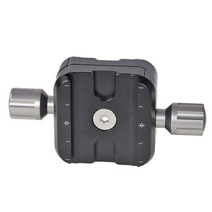 Image 4 - XILETU QR 50B Tripod Head Clamp Two Way Type Clamp For ARCA SWISS