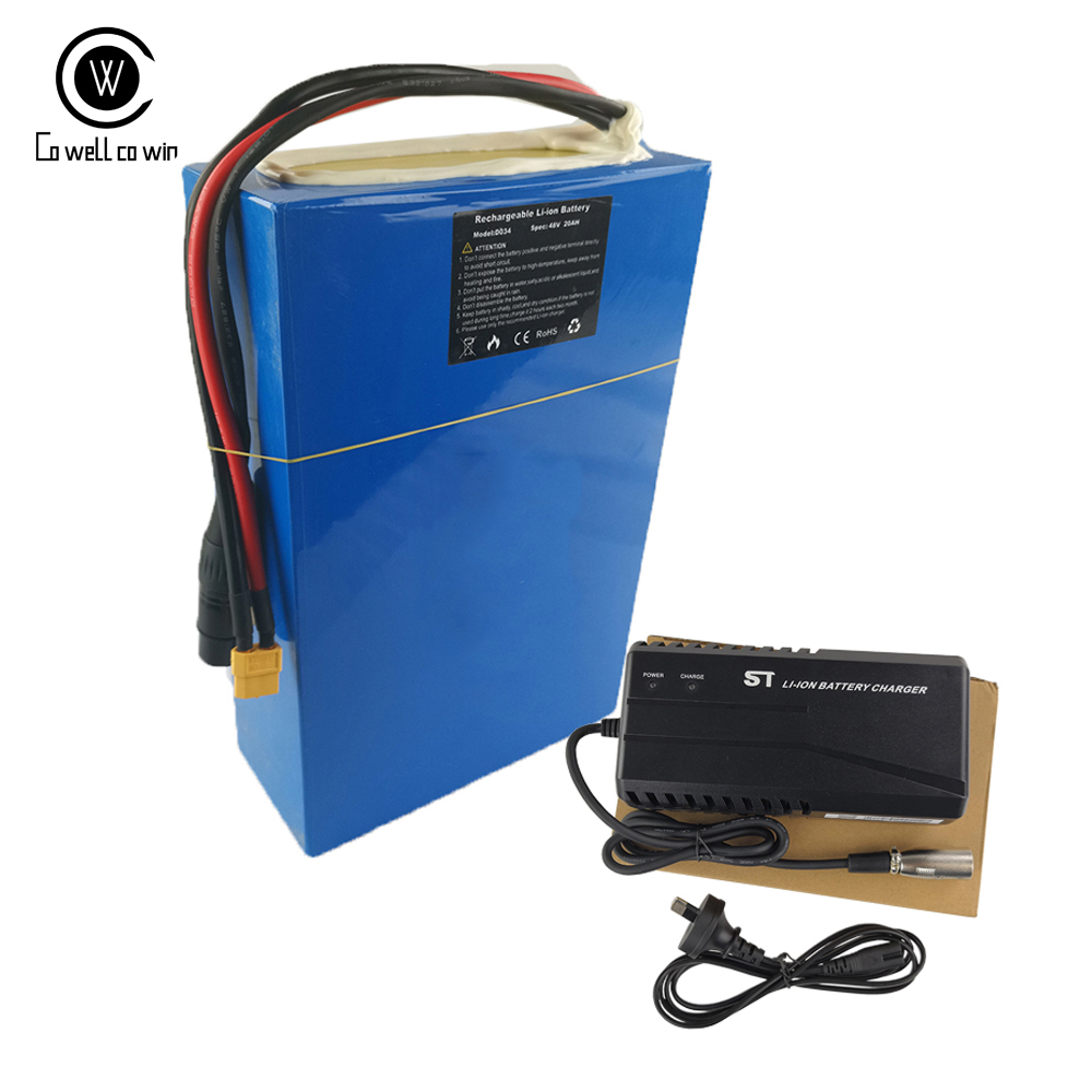 Ebike Battery Pack 60V28AH With <font><b>Samsung</b></font> 3500mah 35E Cell Powerful Soccter Batteries Pack with 4A Fast Charger and 50A BMS image