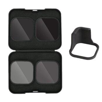 4 paczka zestaw filtrów ND osłona obiektywu filtr (ND8 16 32) + CPL filtr dla Gopro Hero 8 czarnego bohatera 8 akcesoria do aparatu