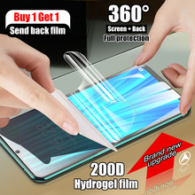 Buy 1 Get 1 200D Full Protection Screen Protector For Xiaomi Redmi Note 9S 8t 7 5 9 Pro Max For Redmi 7A 8A Soft Film Not Glass