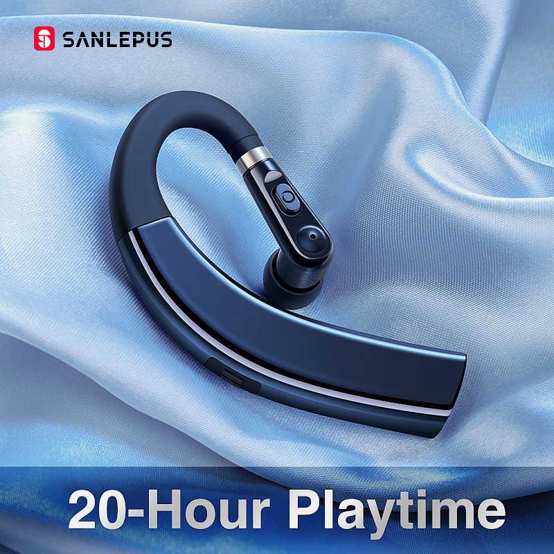 SANLEPUS M11 Bluetooth イヤホンワイヤレスヘッドフォンハンズフリーインナーイヤー型ヘッドセット Hd マイク電話 Iphone xiaomi サムスン