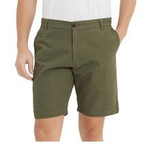 Мужские шорты из 100% хлопка Повседневные Классические модные