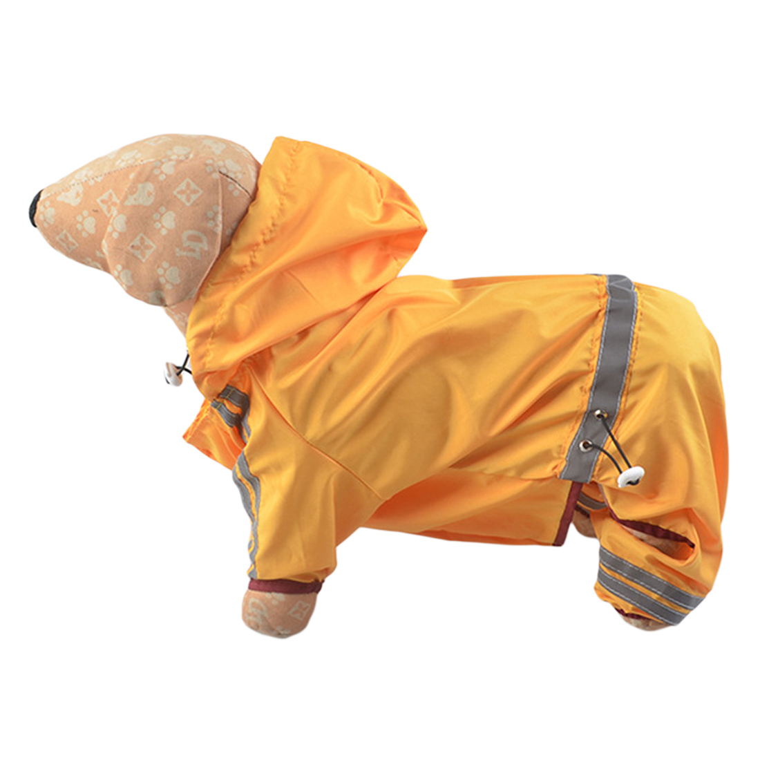 Dog Raincoat Rain Jacket Jumpsuit Waterproof Pet Clothes Safety Rain Wear For Pet Small Medium Dogs Puppy Doggy