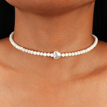 Trendy Jewelry Real Freshwater Pearl Choker Necklace Simple Pearl Jewelry Neckalce for Women