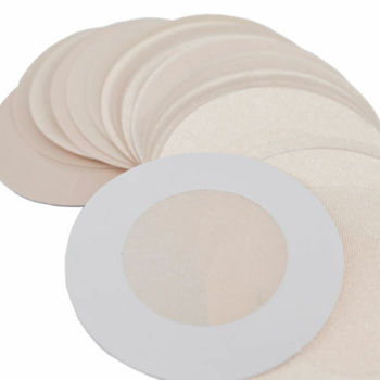 50pcs Women's Invisible Breast Lift Tape Overlays on Bra Nipple Stickers Chest Stickers Adhesivo Bra Nipple Covers Accessories 3