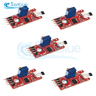 5Pcs/lot 4Pin KY-024 Linear Magnetic Hall Switches Speed Counting Sensor Module For Arduino DIY Kit
