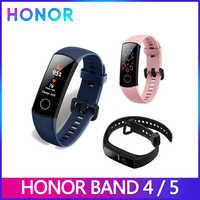 Huawei Honor Band 5 Smart Armband band 4 0,95 zoll Tracker Smart OLED Schwimmen Wasserdichte Bluetooth Fitness Tracker Touchscreen