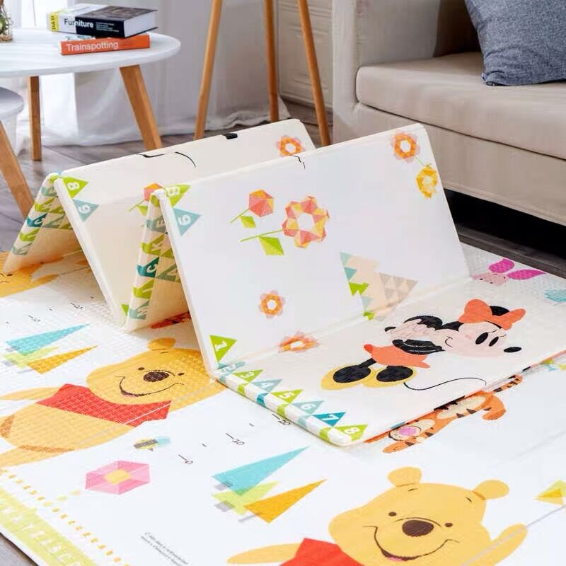 200x180cm Foldable Baby Play Mat Xpe Puzzle Mat Children's Carpet in the Nursery Climbing Pad Kids Rug Activitys Games Toys