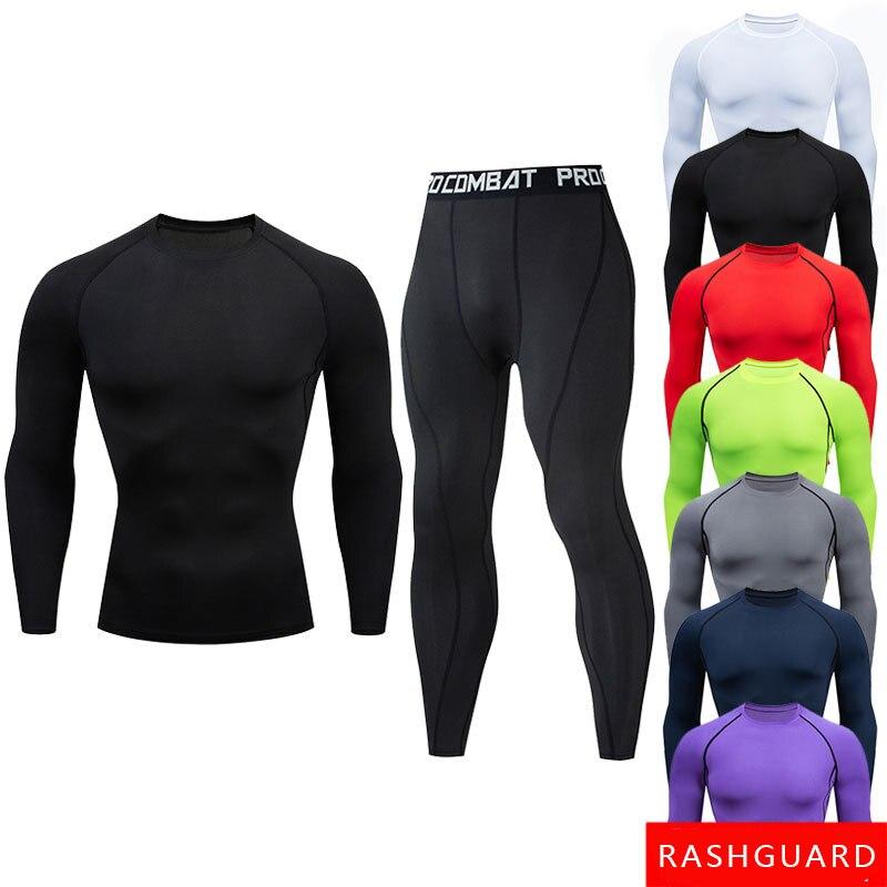 Mma camisa de manga longa masculino esporte jerseys boxe mma compressão camisas secagem rápida muay thai jiu jitsu bjj boxe roupas 2