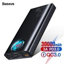 Baseus 30000mAh Power Bank USB C PD3.0 Fast Quick Charge 3.0